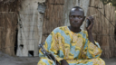 A rebel soldier listens to a radio in the Central African Republic, 2009. Panos pictures.