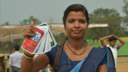 Mobile Kunji from BBC Media Action is used to counsel women rural villages in India.