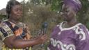 BBC Media Action Sierra Leone interviewee Agnes Yanguba. Voice of Women radio March 2014