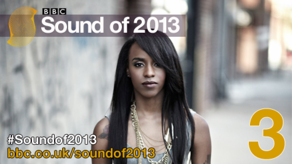 Angel Haze No. 3 in BBC Sound of 2013