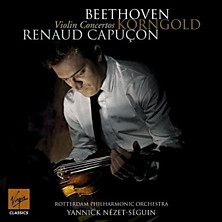 Review of Beethoven and Korngold Violin Concertos