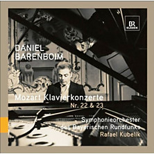 Review of Klavierkonzerte Nr 22 &amp; 23 (feat. piano Daniel Barenboim, cond. Rafael Kubelik, Symphonieorchester des Bayerischen Rundfunks)