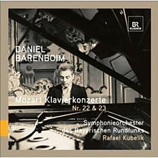 Review of Klavierkonzerte Nr 22 & 23 (feat. piano Daniel Barenboim, cond. Rafael Kubelik, Symphonieorchester des Bayerischen Rundfunks)