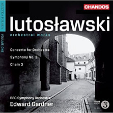 Review of Orchestral Works (feat. conductor: Edward Gardner; BBC Symphony Orchestra)