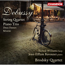 Review of String Quartet, Piano Trio, Deux Danses, Reverie
