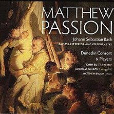 Review of Matthew Passion