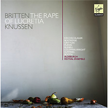 Review of The Rape of Lucretia (conductor: Oliver Knussen; Aldeburgh Festival Ensemble)