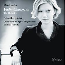 Review of Violin Concertos / The Hebrides (violin: Alina Ibragimova; Orchestra of the Age of Enlightenment; conductor: Vladimir Jurowski)