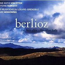 Review of Les nuits d'été / Harold en Italie (viola: Antoine Tamestit; mezzo-soprano: Anne Sofie von Otter; Les Musiciens du Louvre-Grenoble; Marc Minkowski)