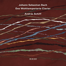 Review of Das Wohltemperierte Clavier (Books I and II) (feat. piano: András Schiff)