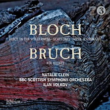 Review of Voice in the Wilderness, Schelomo, From Jewish Life; Kol Nidrei (cello: Natalie Clein; BBC Scottish Symphony Orchestra; conductor: Ilan Volkov)