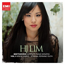 Review of Complete Piano Sonatas – Volume 1: Heroic Ideals / Eternal Feminine Youth (piano: HJ Lim)