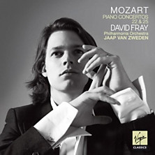 Review of Piano Concertos 22 and 25 (feat. piano: David Fray; conductor: Jaap van Zweden; Philharmonia Orchestra)