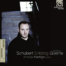 Review of Schubert Edition Vol. 7: Erlknig (baritone: Matthias Goerne; piano: Andreas Haefliger)