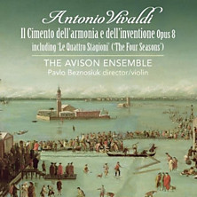 Review of Il cimento dell'armonia e dell'inventione - 12 concerti, Op. 8 (The Avison Ensemble; violin: Pavlo Beznosuik)