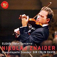 Review of Violin Concerto (feat. violin Nikolaj Znaider, cond. Sir Colin Davis, orch. Staatskapelle Dresden)