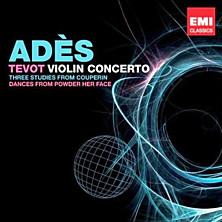 Review of Violin Concerto & Tevot (feat. violin: Anthony Marwood; feat. orch: Chamber Orchestra of Europe, National Youth Orchestra of Great Britain, Berliner Philharmoniker)