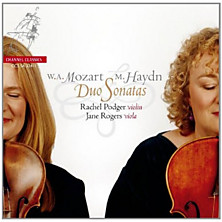 Review of Duo Sonatas (violin: Rachel Podger viola: Jane Rogers)