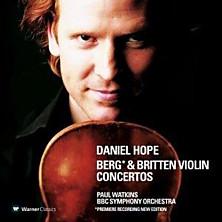 Review of Berg & Britten Violin Concertos