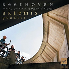 Review of Ludwig van Beethoven: String Quartets Op.18/3, Op.18/5 & Op.135