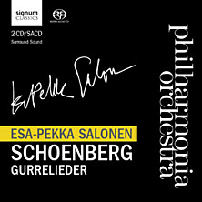 Review of Gurrelieder (Philharmonia Orchestra, feat: cond. Esa-Pekka Salonen)