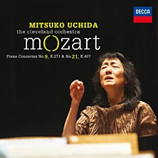Review of Piano Concertos Nos. 9 & 21 (feat. piano: Mitsuko Uchida; The Cleveland Orchestra)