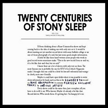 Review of Twenty Centuries of Stony Sleep