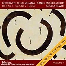 Review of Cello Sonatas Vol 1