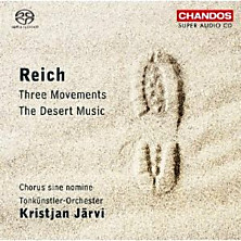 Review of Three Movements / The Desert Music (conductor: Kristjan Järvi)