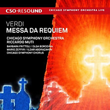 Review of Messa Da Requiem (feat. conductor: Riccardo Mutti; Chicago Symphony Orchestra; Chicago Symphony Chorus)