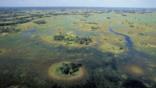 Okavango Delta in Botswana after the rainy season