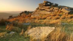 Bodmin Moor in late evening light