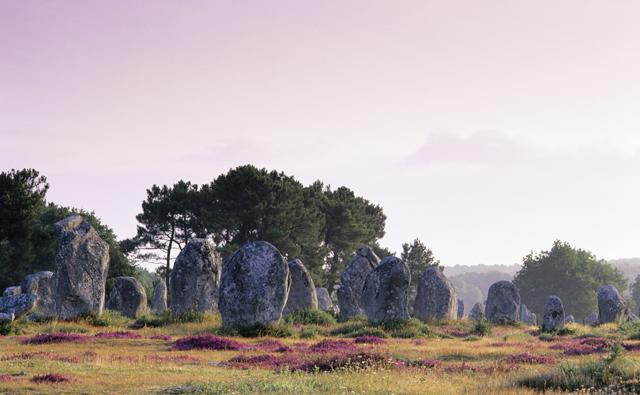 Neolithic stone alignments, Carnac, France