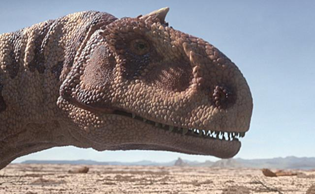 Protrait of a Majungasaurus