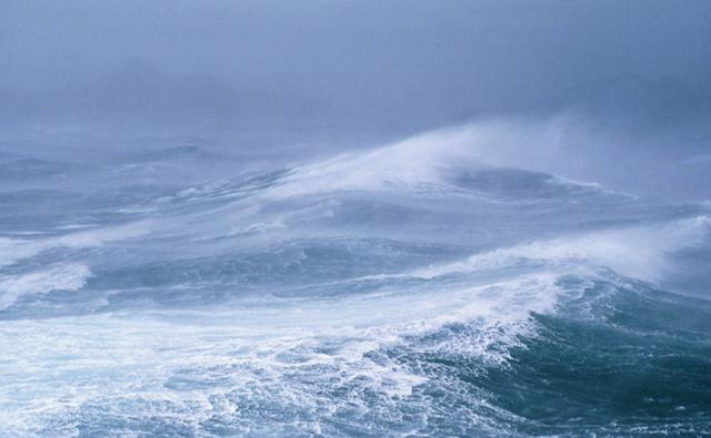 The stormy seas of Antarctica