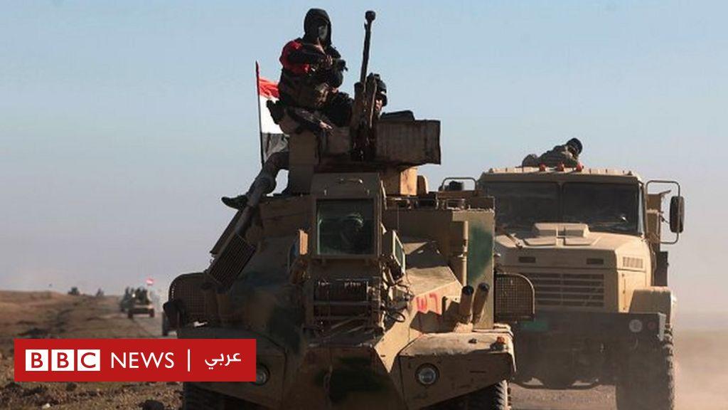 دقت_ساعة_الأيمن... معركة الموصل تستعر على تويتر - BBC Arabic