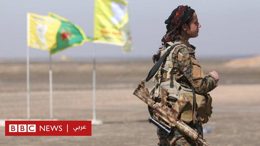 قوات سوريا الديمقراطية  تسيطر  على قاعدة جوية استعدادا لمعركة الرقة - BBC Arabic