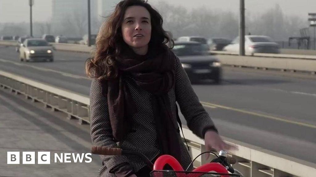 Cycling through Europe's deadliest air