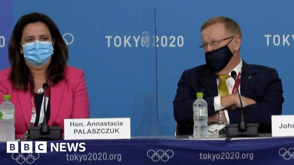 John Coates: Australian Olympic boss in awkward 'mansplaining' row