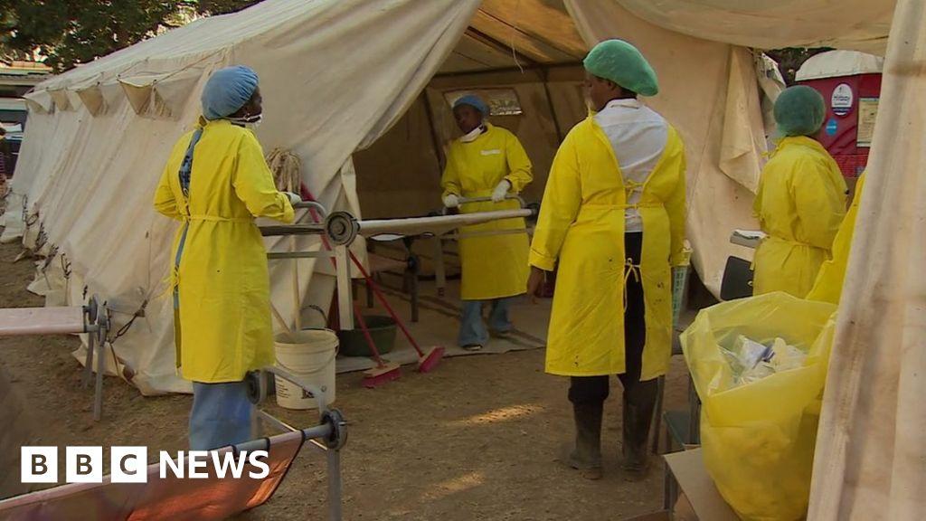 Zimbabwe's cholera emergency: 'Stench of sewage' in Harare