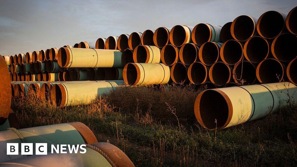 Keystone XL pipeline halted after Biden blocks permit