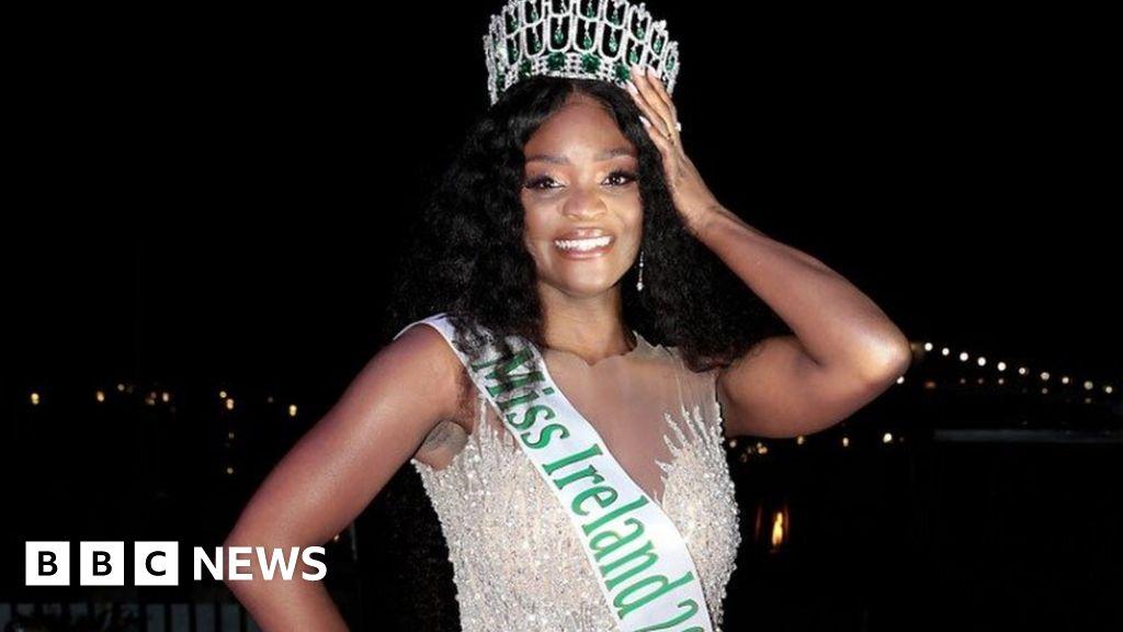 Miss Ireland 2021: First black winner 'proud' of crown