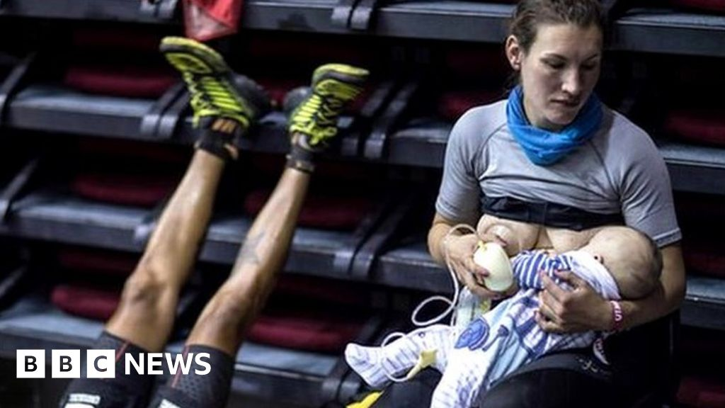 Ultra Runner Sophie Power Breastfeeding