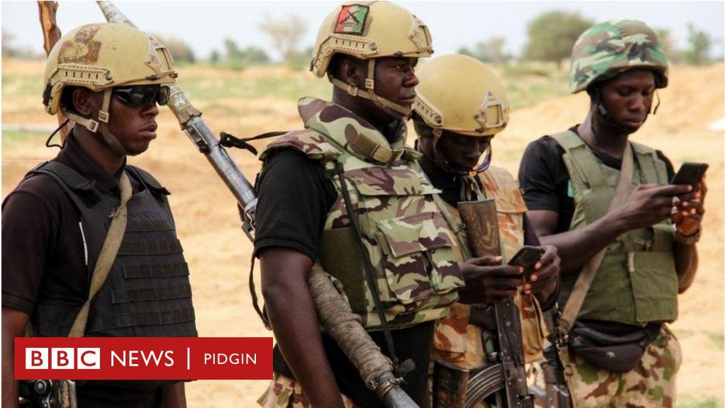 Nigerian soldier wey get depression shoot anoda officer dead for Bama, Borno - BBC News
