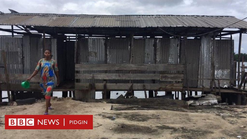 Bundu Ama: Di community wey get only 'one' toilet - BBC News