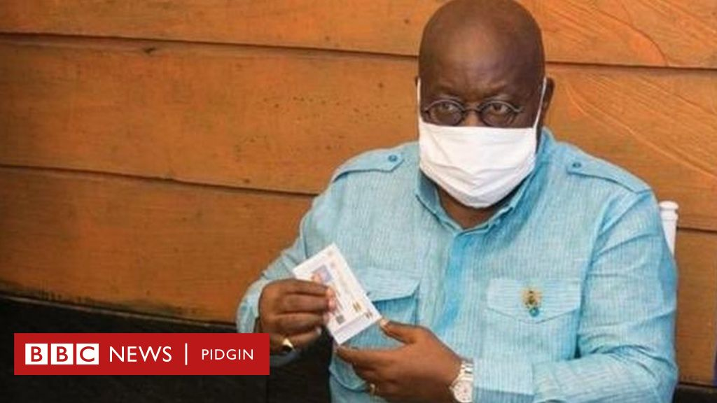 'Ghana voters register move from ECOWAS status to United Nations?' - BBC News Pidgin