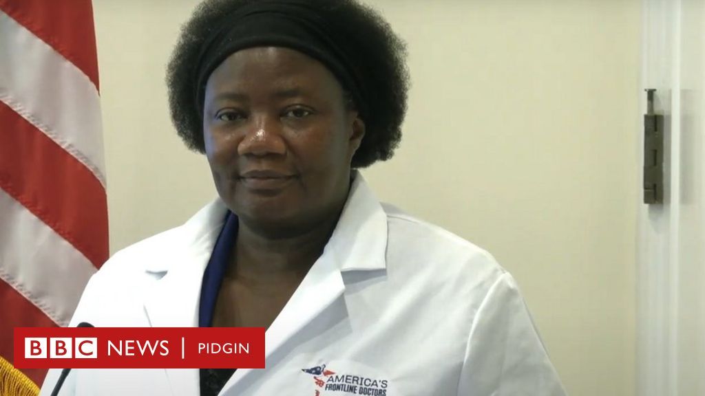 Dr Stella Immanuel Hydroxychloroquine Video Physician Wey Facebook Twitter Delete Her Post Say She Promote Drug Who No Support Want Patients To Speak Out Bbc News Pidgin
