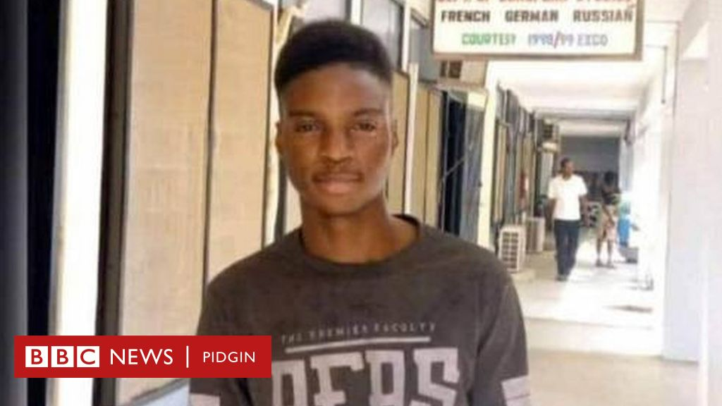 Richard Gbadebo: How University of Ibadan 300 level student take die for soap factory - BBC News