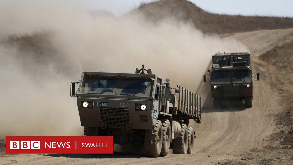 Jeshi la Israel lashambulia kambi za kijeshi za Syria - BBC News Swahili