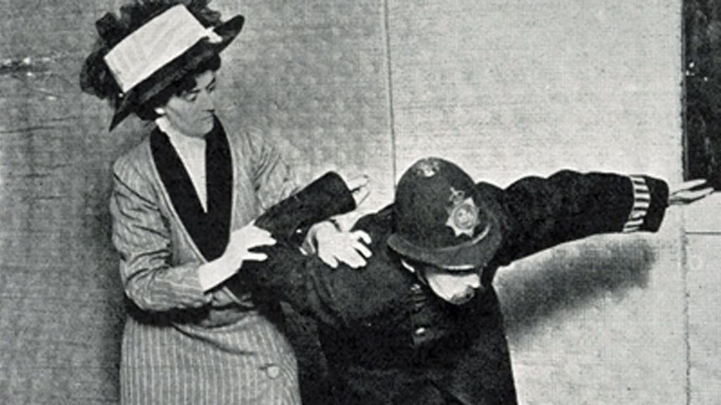 Suffrajitsu How The Suffragettes Fought Back Using